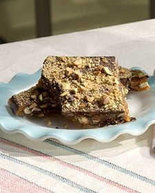 Chocolate Pistachio Brittle -I have made this and it is wonderful ...