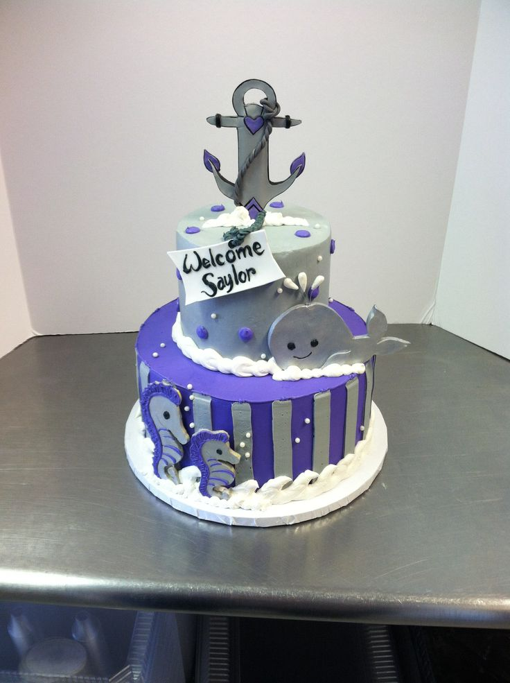nautical baby shower cake luckytreats baby shower ideas pinterest