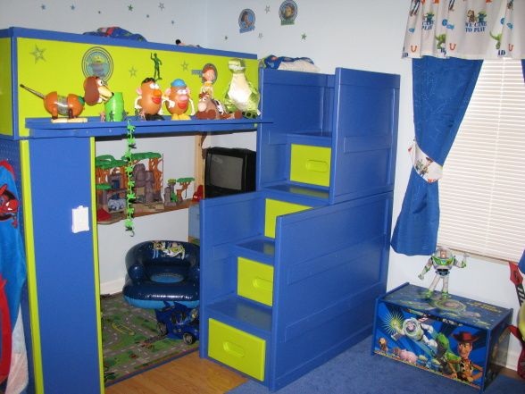 toy story bedroom bennett pinterest