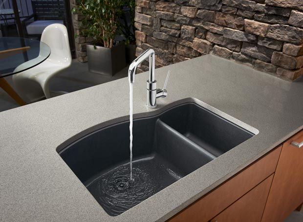 How To Clean A Blanco Composite Granite Sink : ... stone, this is one sink you have to see and feel to believe. Available