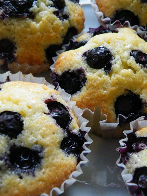 Blueberry Cornmeal Muffins | Favorite Recipes | Pinterest