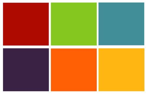 Kids Color Palette  Interior Design Decor