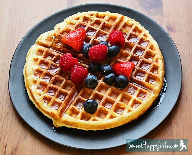 Easy Waffles for Snow Day | Recipe