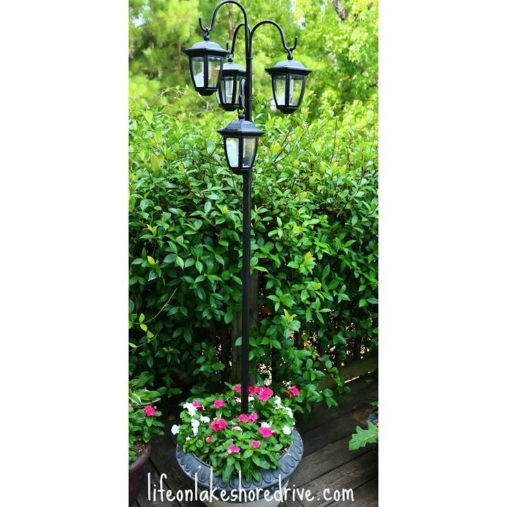 Light Post Planter Bing Images