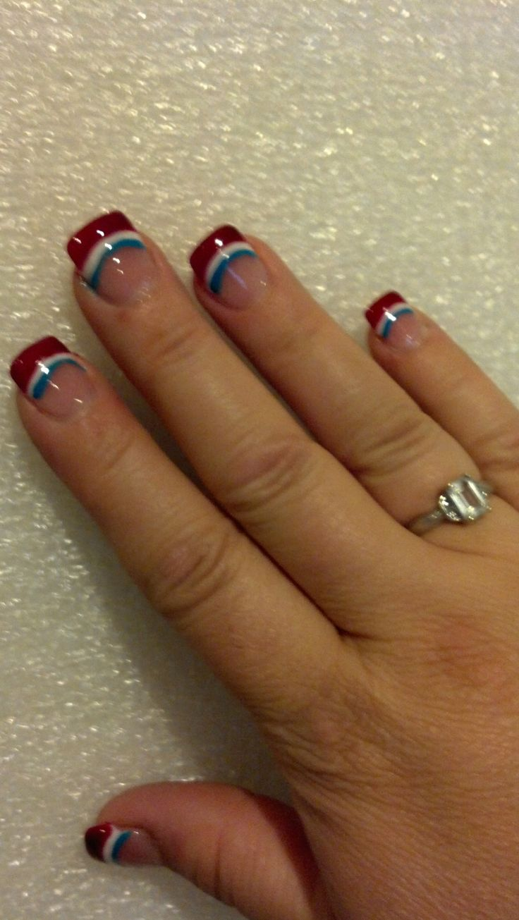 fourth of july nails youtube