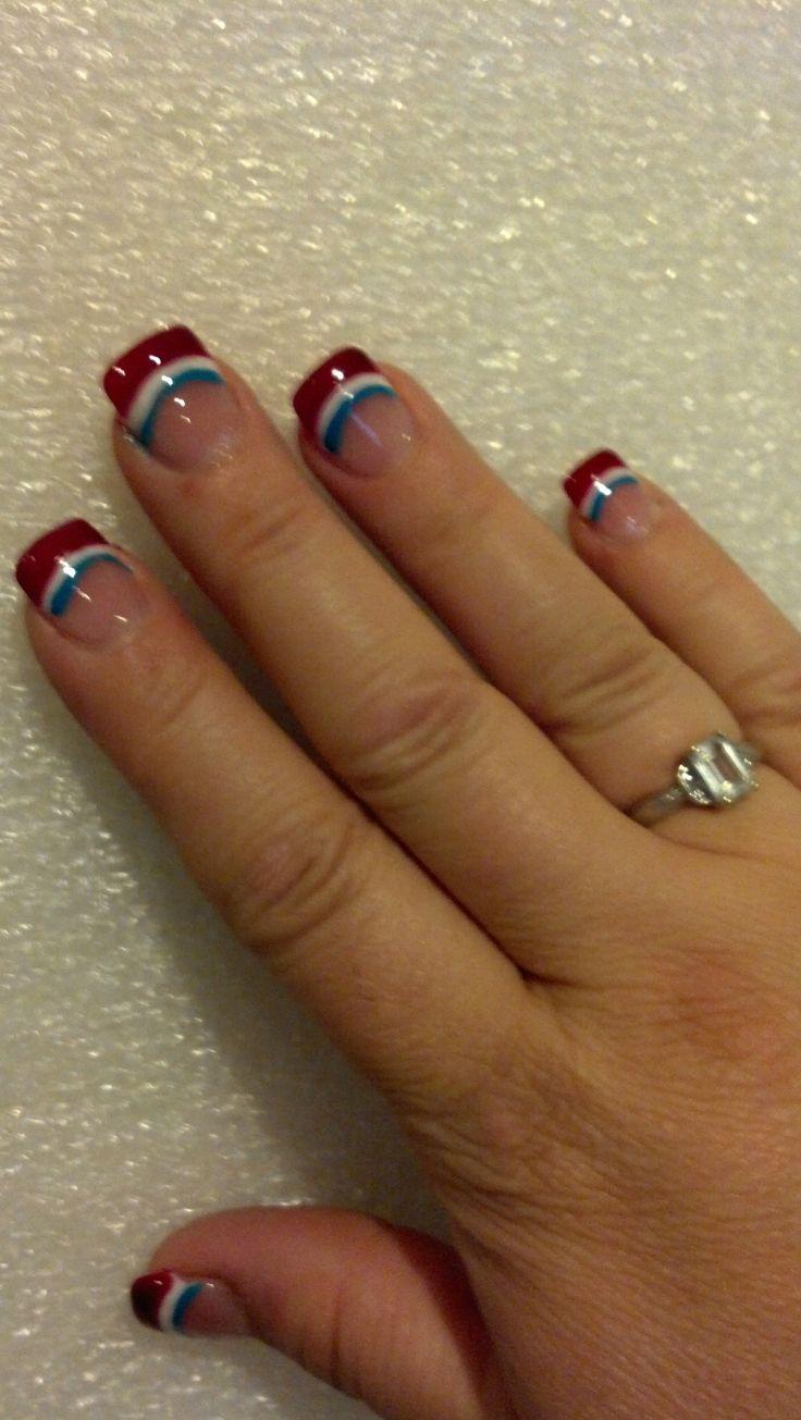 fourth of july nails cutepolish