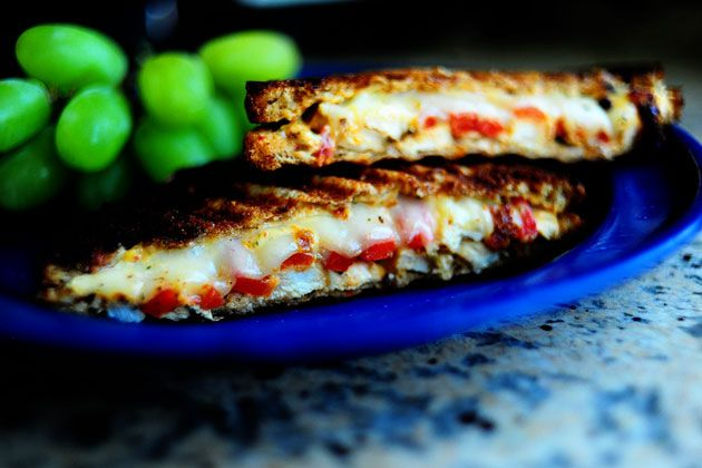 Grilled Chicken and Roasted Red Pepper Panini | Recipe