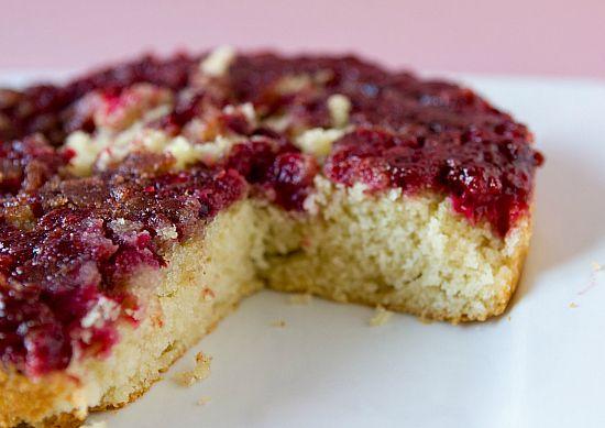 Cranberry Upside-Down Cake | Recipe