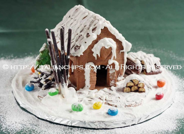 gingerbread house recipe   My kinda cooking   Pinterest