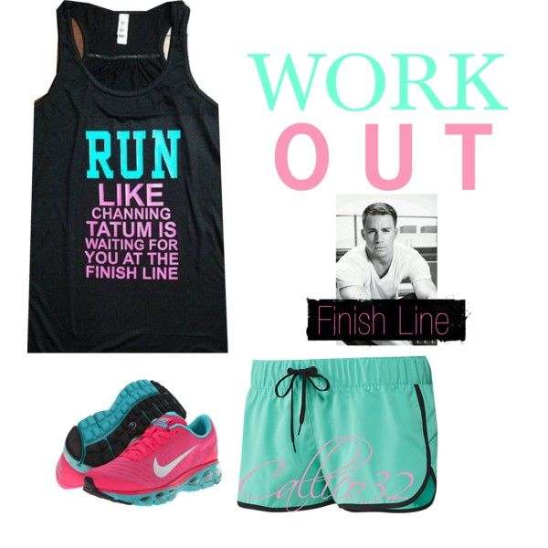 """Workout #4"" by callico32 on Polyvore"