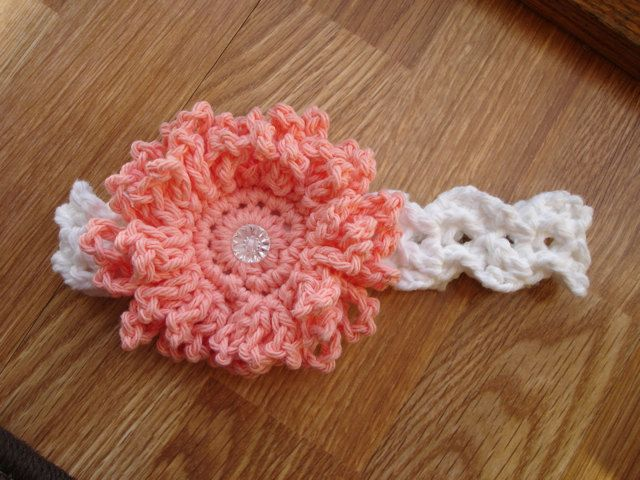 Crochet Pattern For Baby Headband With Flower Pakbit For