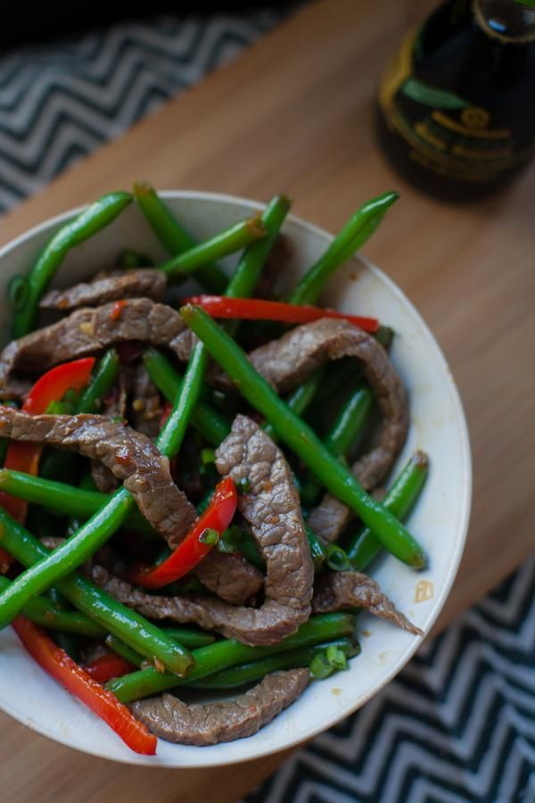 Spicy Ginger Beef and Veggie Stir Fry | Recipe