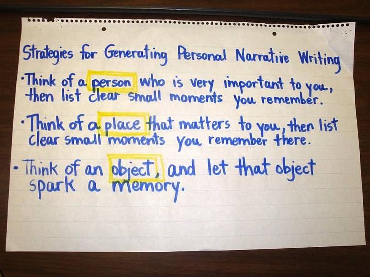 Good Ideas For Narrative Essays