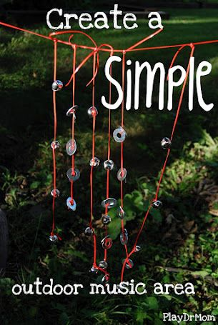 A playful outside wind chime