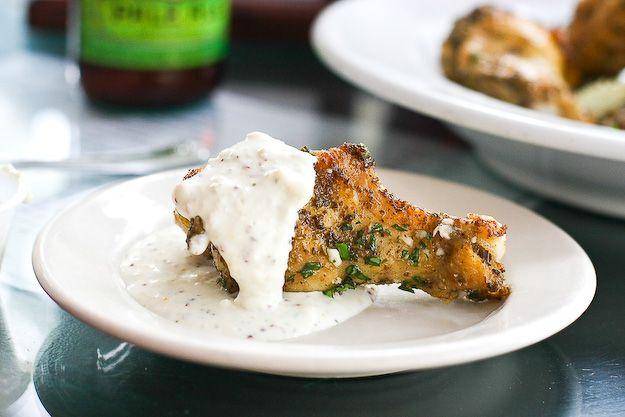 Baked Parmesan Garlic Chicken Wings | Recipe