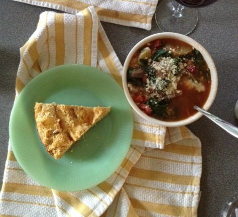 Sausage and Lentil Soup with Swiss Chard   Things to eat   Pinterest