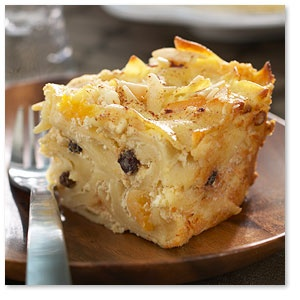 Noodle Kugel with Raisins, Peaches and Slivered Almonds...Had this for ...