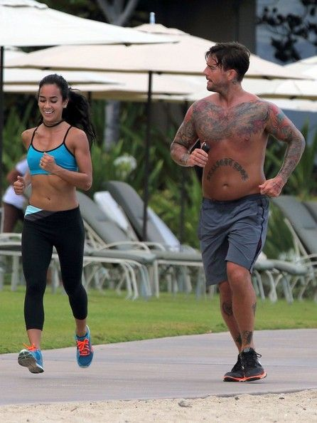 Private Photo of Cm Punk and Aj Lee