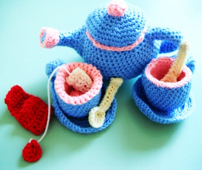 Learn to Crochet with Girlybunches - How to Make a Tea