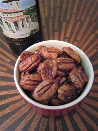 Spicy pecans... recipe includes Chinese five spice powder, one of my ...