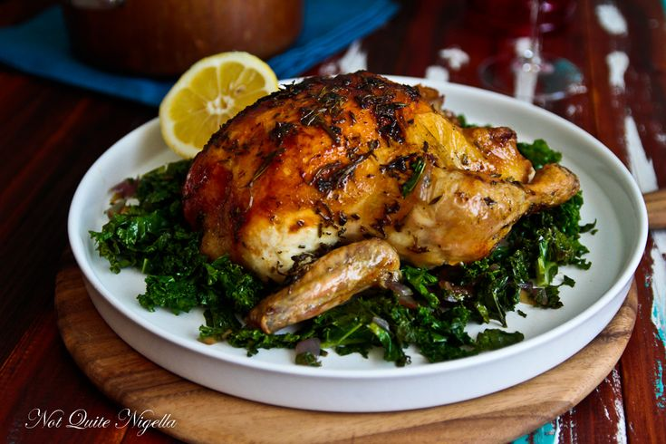 Meyer Lemon Roasted Chicken With Herbs Recipes — Dishmaps