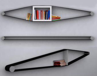 Flexible bookcase | I New Idea Homepage