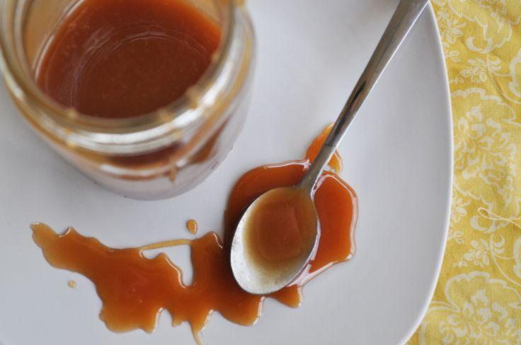 Spiced Rum Caramel Sauce | Rum | Pinterest