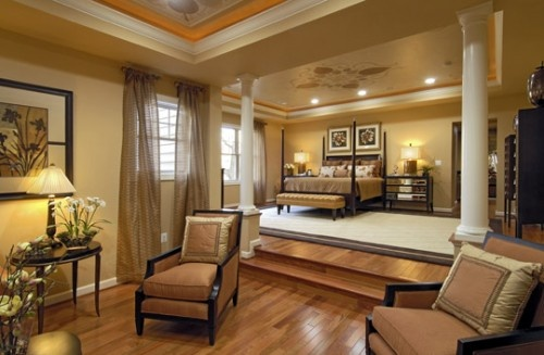 Beautiful bedroom with sitting room dream home garden for Beautiful sitting rooms