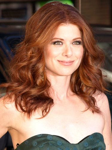 Copy Debra Messing's loose, voluminous #curls with these five steps from #celebrity stylist Gad Cohen.