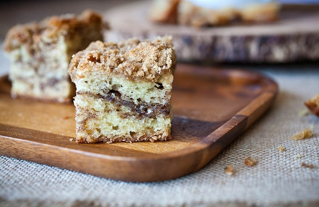 Sour cream coffee cake - looks easy enough to make
