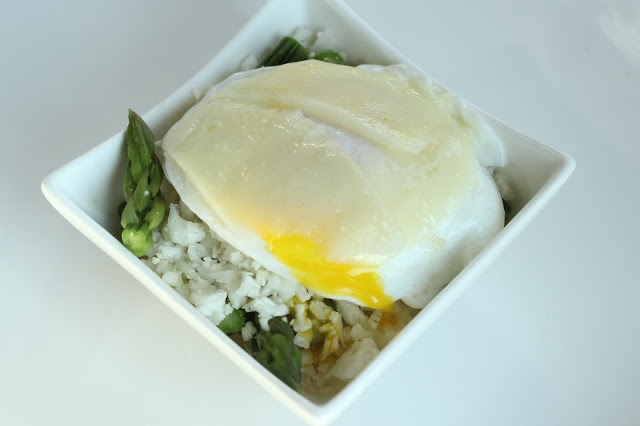 Asparagus Risotto with a Poached Egg | Maria's Nutritious and ...