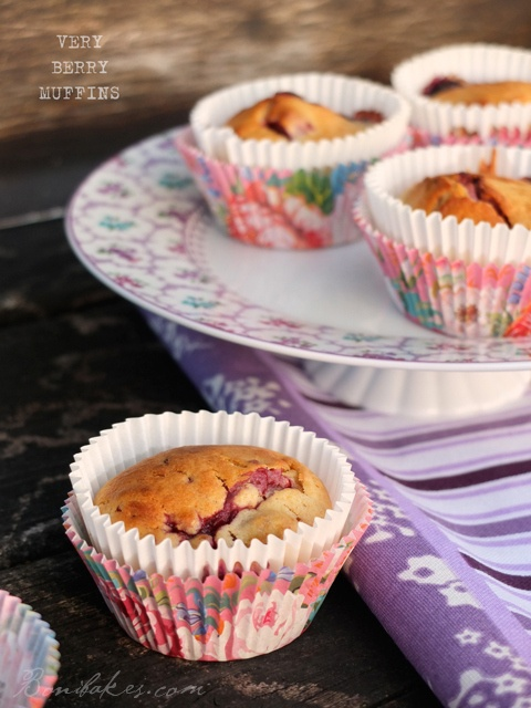 Very berry muffins | FOOD. | Pinterest
