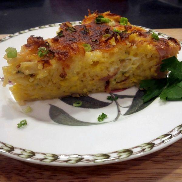 ... -Free Frittata with Radishes and Scallions (optionally gluten-free