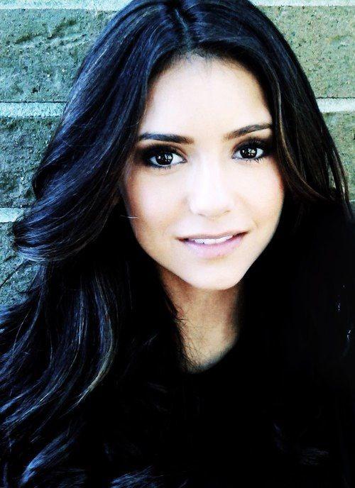 Nina Dobrev dark hair makeup : Makeup : Pinterest