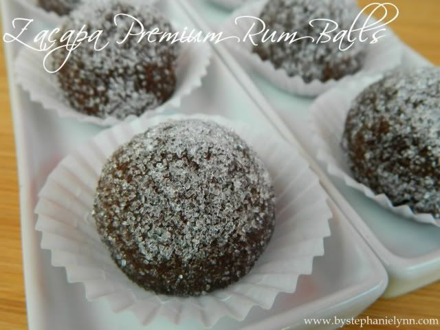 Zacapa Premium Rum Balls ~ Unlike the typical rum ball which is made ...