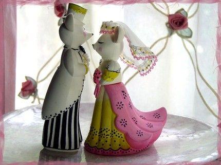 virginia tech wedding cake toppers