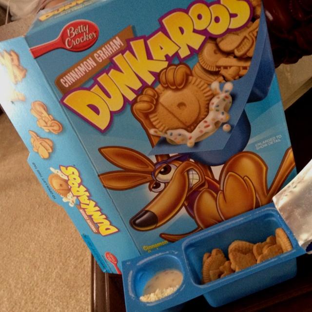 90's Childhood Snacks - Nostalgia. Dunkaroos!