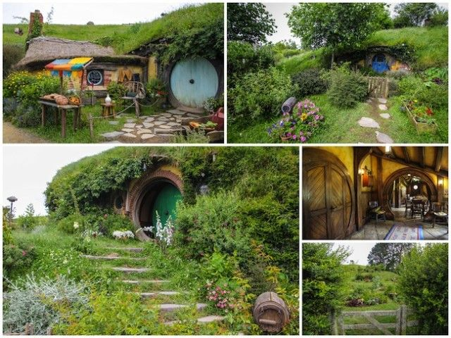 hobbiton new zealand aka The Shire ;)