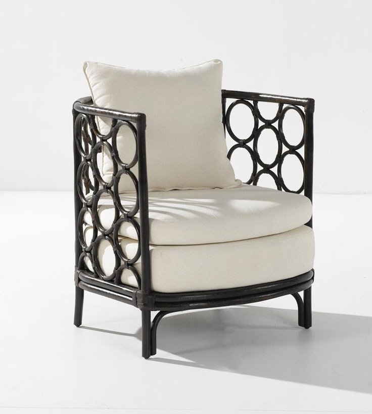 """Spotted! The fabulous Remada Armchair appeared on Celebrity Apprentice tonight with """"The Hoff"""" perched proudly upon it. Currently in stock, you too can be proudly perched upon one in no time. Also available in Antique White (Hoff not included!)."""