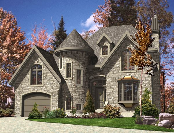 Turret habitats for humanity pinterest for Victorian house plans with turrets