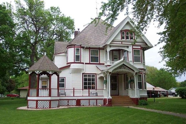 1900 Queen Anne  Marcus, IA (George F. Barber) This is a George F ...