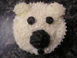 Mary s kitchen polar bear cupcakes