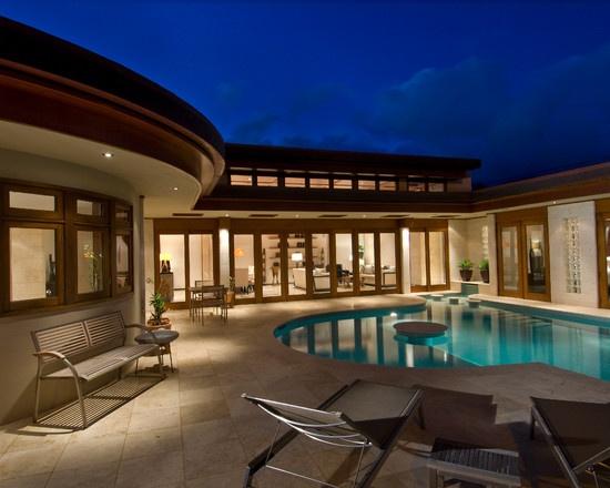 U Shaped House Plan My Dream House Pinterest