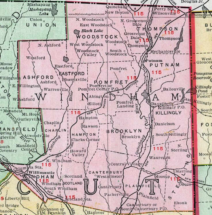 8 Best Historic Connecticut County Maps Images On