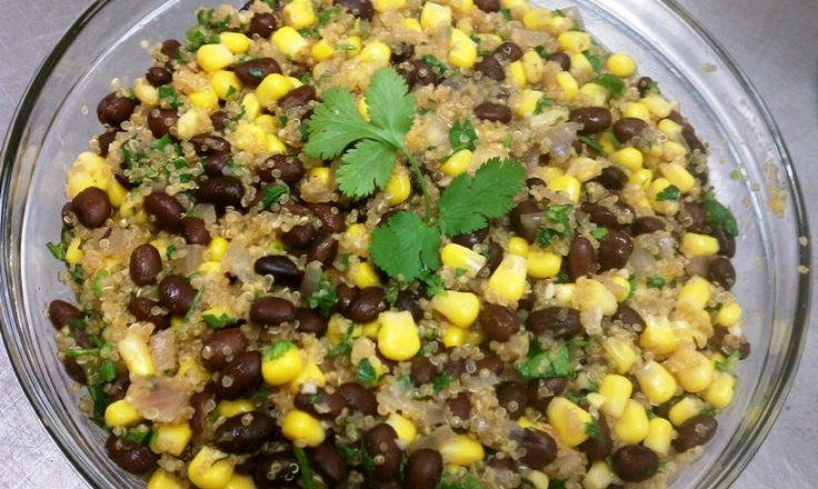 vegan quinoa and black beans - AMAZING!* | things i've made* | Pinter ...