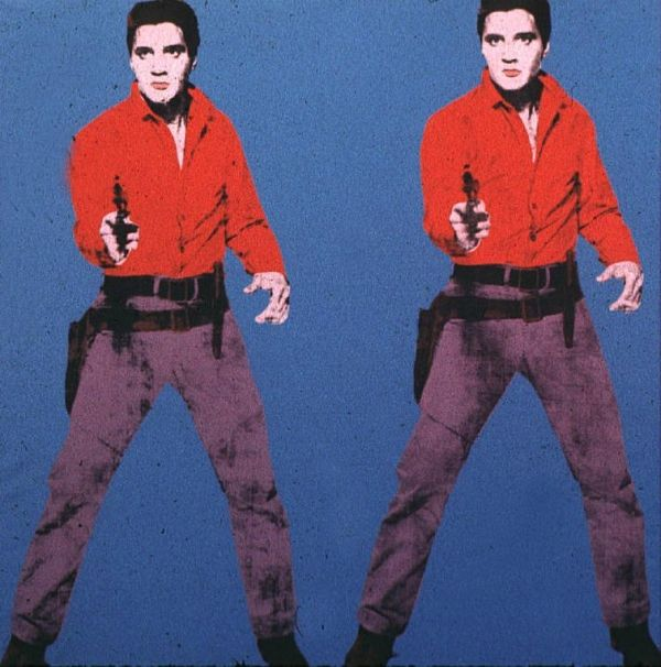 elvis presley by andy warhol andy amp co pinterest