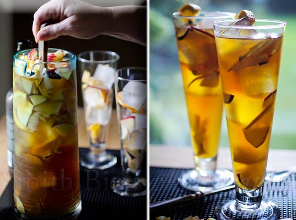 Apple-Plum Sangria made by @Smith Bites #drinks #cocktails