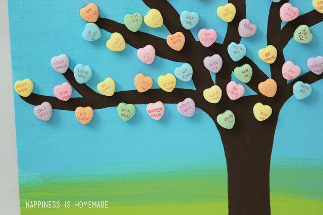 quick valentine art