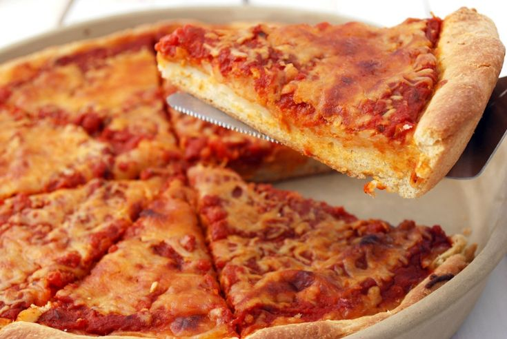 Deep dish pizza | Dinner Dishes | Pinterest