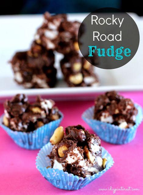 Dig Pinterest: Rocky Road Fudge   Desserts & Sweets   Pinterest